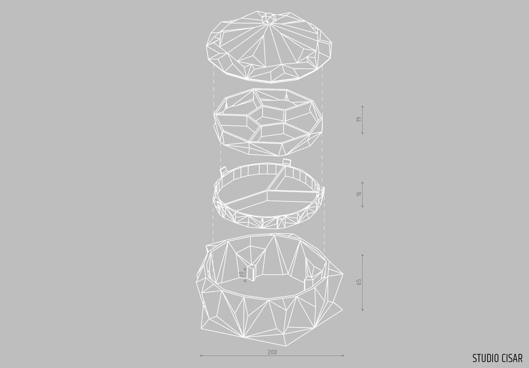 006_Jewelery box A_01.jpg Download STL file CUBISM JEWELLERY BOX • Object to 3D print, cisardom