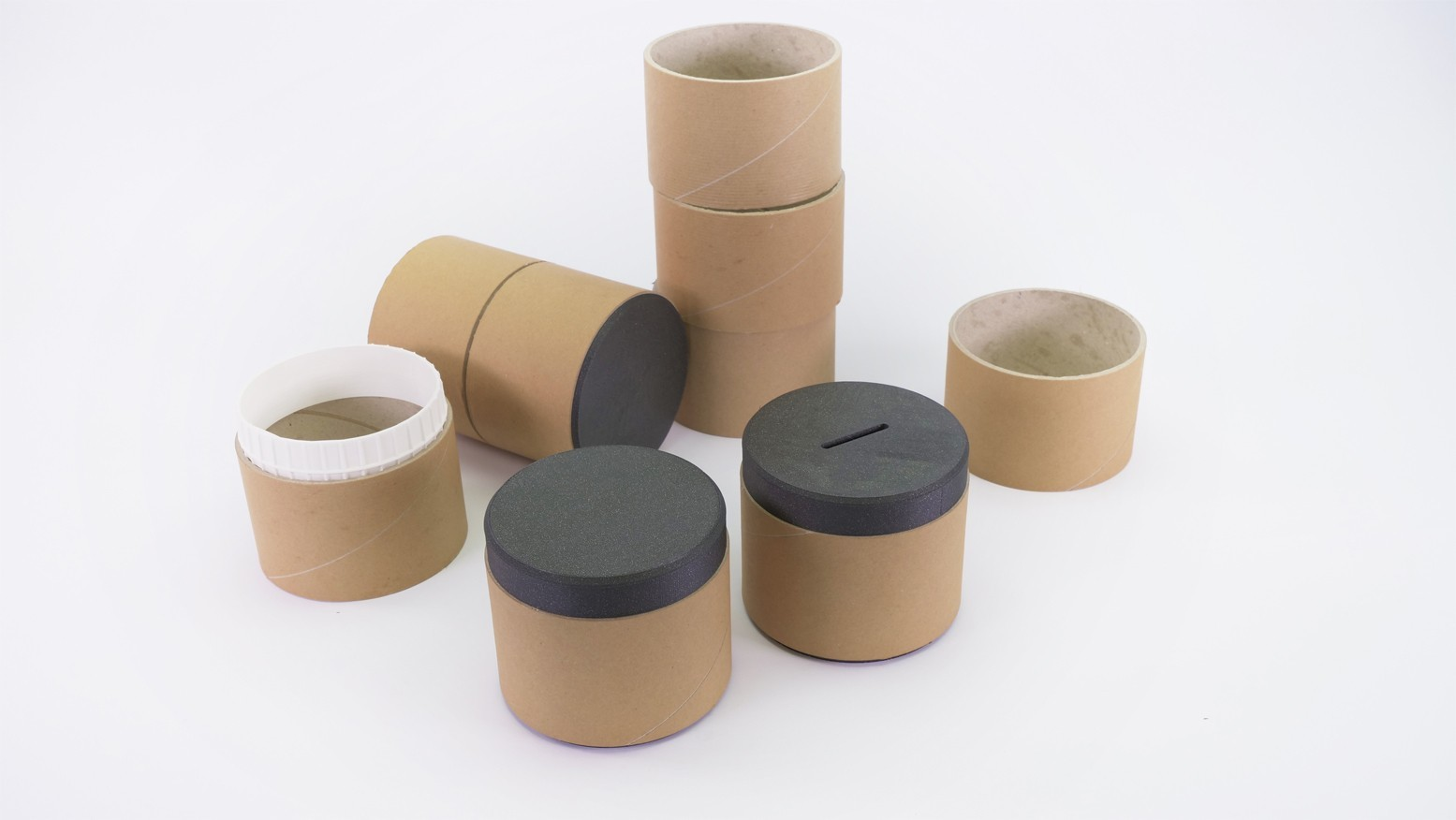 Containers_by Dominik Cisar.jpg Télécharger fichier STL gratuit CONTENEURS - ENSEMBLE DE PRÉPARATION - idée de réutilisation • Plan imprimable en 3D, cisardom