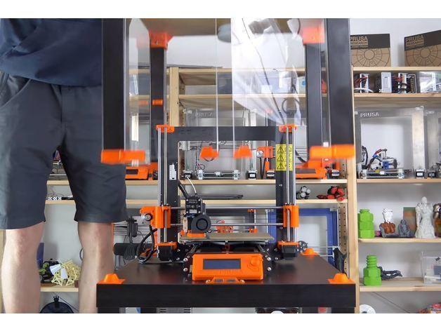 4b5fefcbaa1bedd434495753b8eea33e_preview_featured.JPG Download free STL file Original Prusa i3 MK3 ENCLOSURE -Ikea Lack table - Prusa Research • Template to 3D print, cisardom