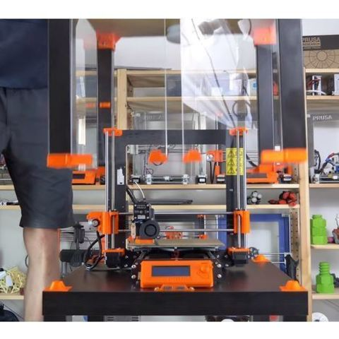 Descargar archivos STL gratis Original Prusa i3 MK3 ENCLOSURE -Ikea Lack table - Prusa Research, cisardom