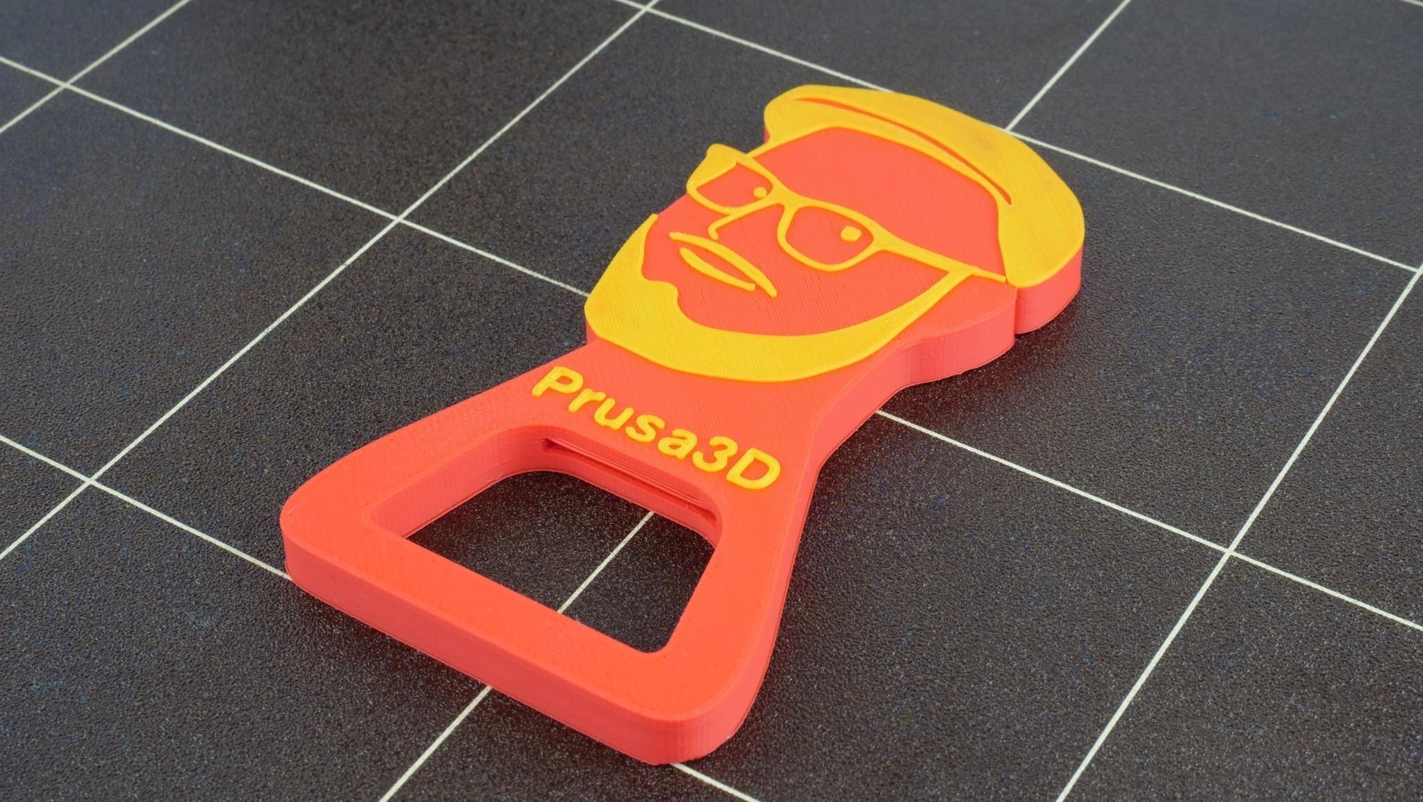 pepa_opener.jpg Download free STL file Josef Prusa Beer Opener • 3D printer model, cisardom