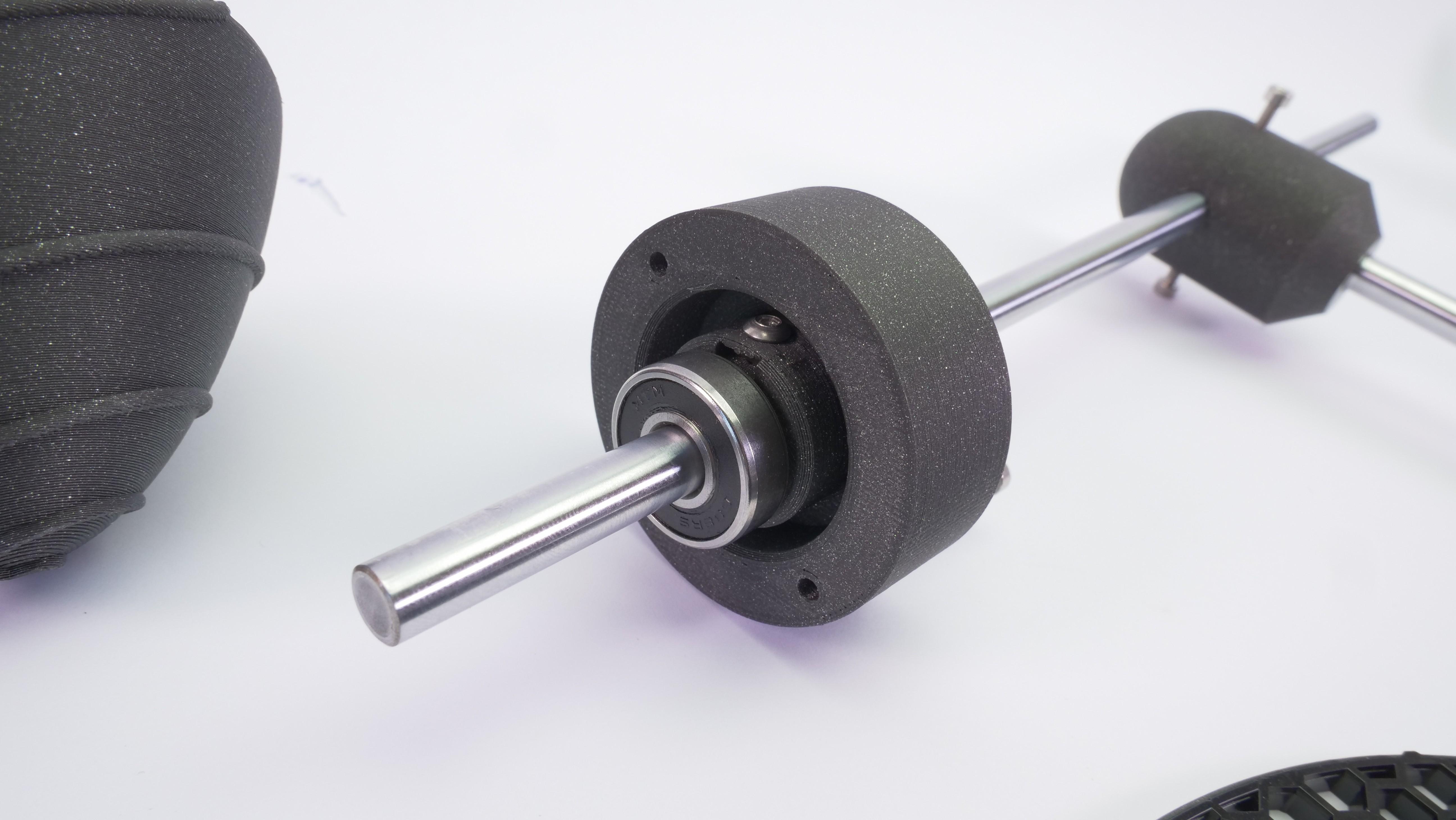 P1133622.JPG Download free STL file WINDMILL - PRUSAMENT SPOOL - reuse idea • 3D printer model, cisardom