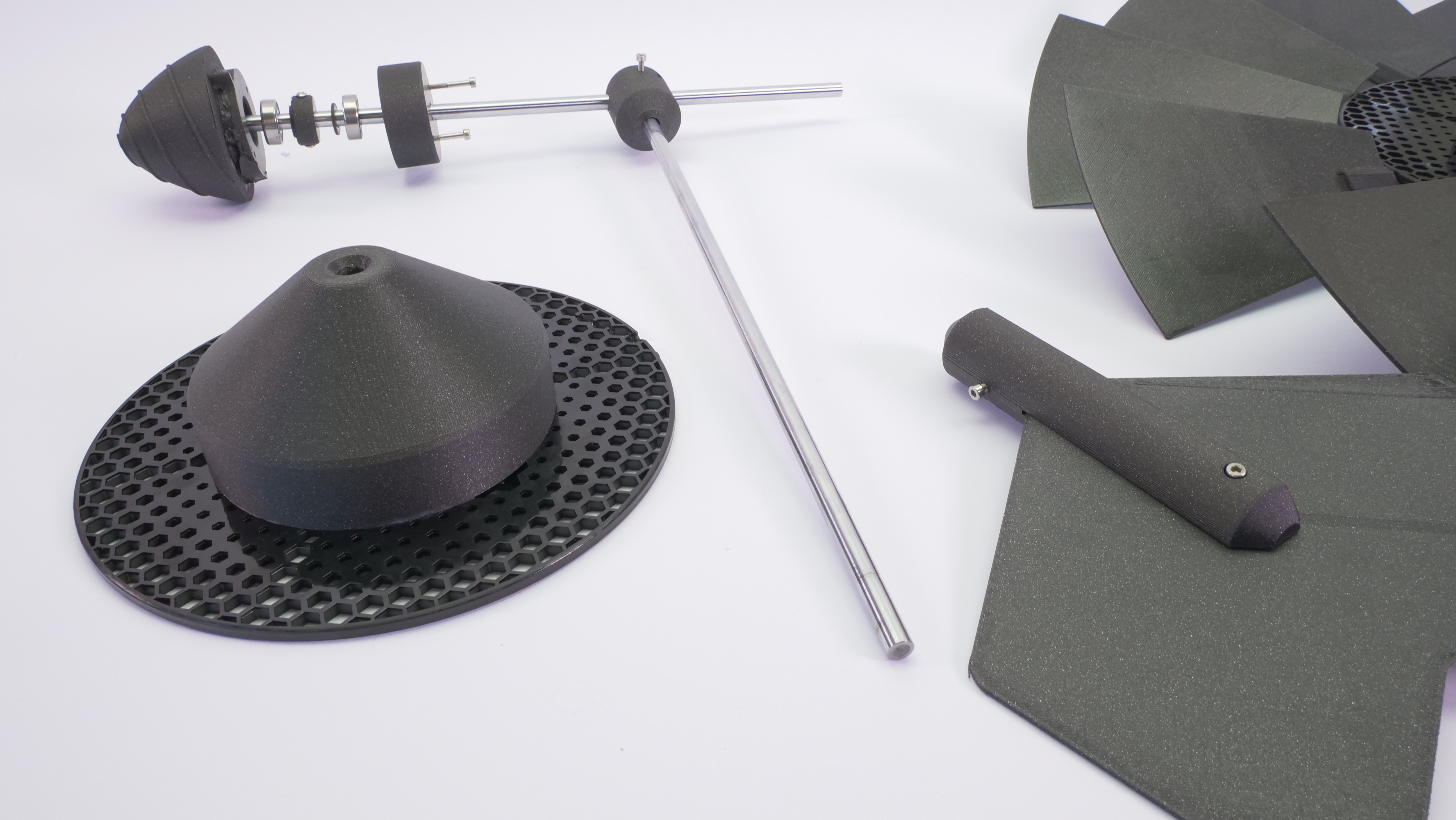 P1133618.JPG Download free STL file WINDMILL - PRUSAMENT SPOOL - reuse idea • 3D printer model, cisardom