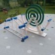 Download 3D printing templates London eye - mosquito coil holder, mrbarki7