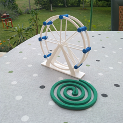 img1.png Download STL file London eye - mosquito coil holder • Model to 3D print, mrbarki7