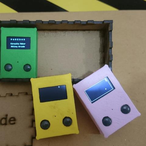 Free 3D file Arduino Attiny Arcade, CircuitoMaker