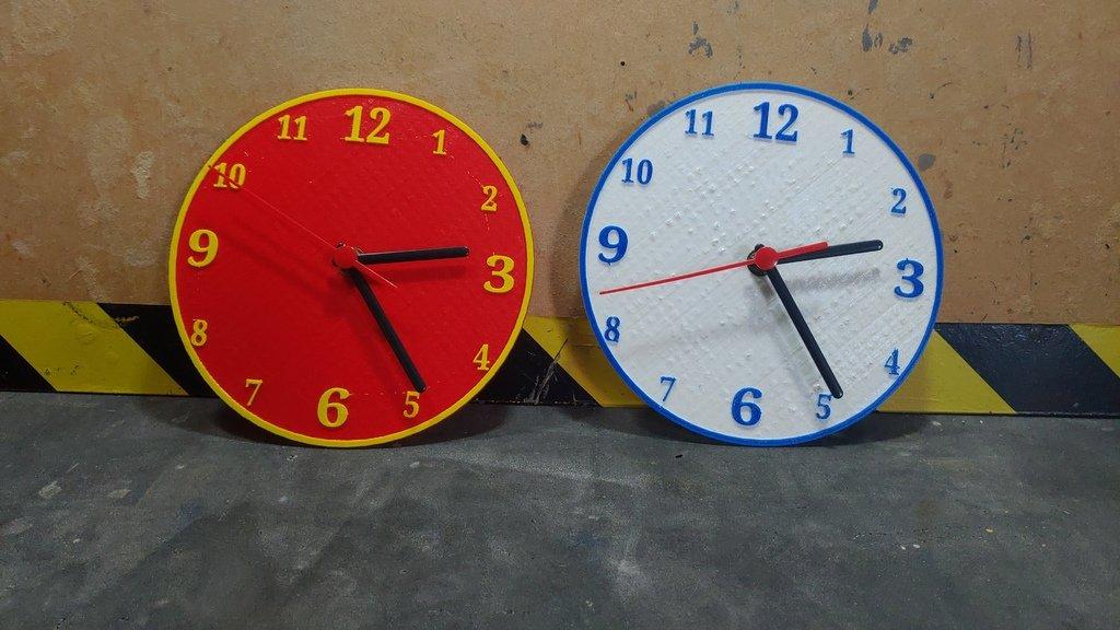 769a827af57d62033793bdbf4f7b8901_display_large.jpg Download free STL file Relógio Clock • 3D printable design, CircuitoMaker