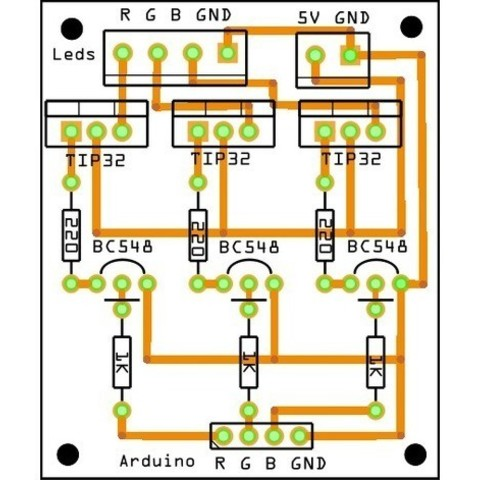 b5f4bb32946928986bcc1b2086de0b7a_preview_featured.jpg Download free STL file Luminária de parede • Object to 3D print, CircuitoMaker