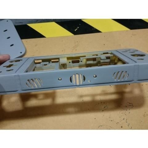 44b9f5ac27ef4b72ff03c59fa9d6c3d0_preview_featured.jpg Download free STL file Projeto ANARC portable console with Raspberry PI • 3D printer template, CircuitoMaker