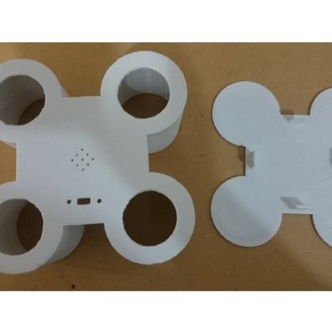 6bade8110601de30c47dd51084ffc663_preview_featured.jpg Download free STL file Game Genius Simon says game • 3D printer model, CircuitoMaker