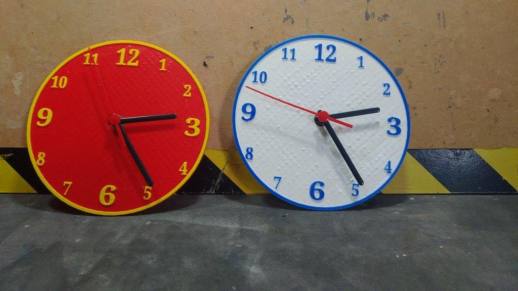 6627a2b5f7fcbc158cbcd8cd7b18ecba_display_large.jpg Download free STL file Relógio Clock • 3D printable design, CircuitoMaker