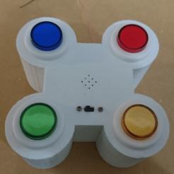 Télécharger fichier STL gratuit Game Genius Simon dit jeu, CircuitoMaker