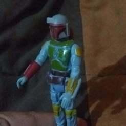 Télécharger STL Star-Wars BobaFett Kenner Style Kenner Style Vintage 3D STL OBJ, DesertOctopus