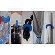 Free STL Multi-purpose round clamp, 3DKSTRO
