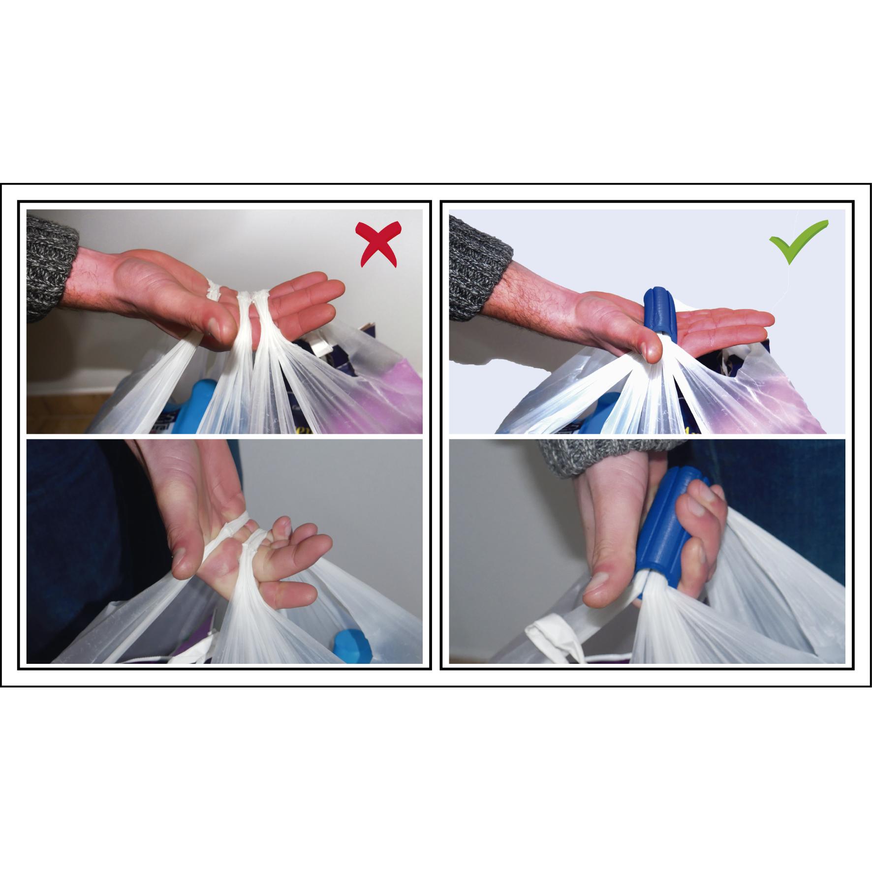 Shopping_bag_handle_02-01.png Download STL file Shopping Bag Handle [Life Hack] • 3D print design, 3DKSTRO