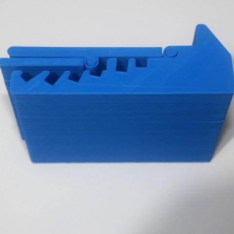 P1000527.JPG Download STL file Adjustable Device Holder[LIFE HACK] • 3D printable design, 3DKSTRO