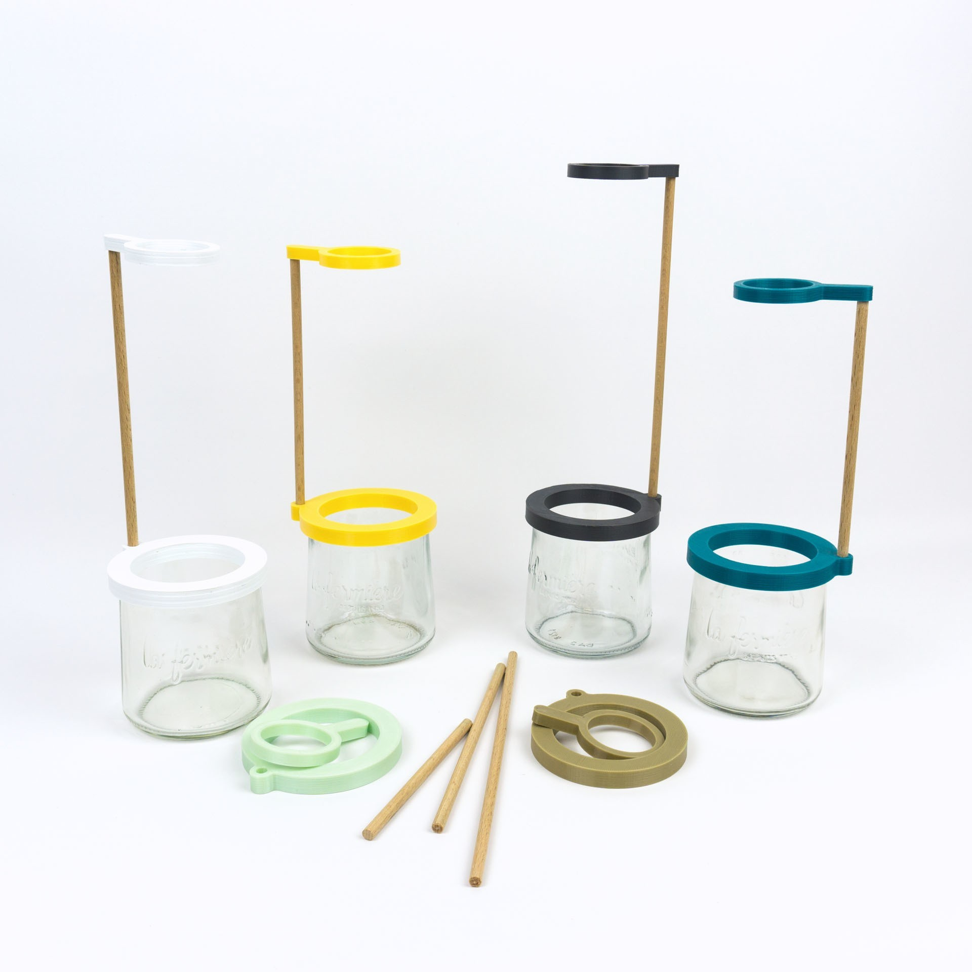 Shooting Pots et impression 3D - 2018 02 10 - 13.jpg Download STL file Stem vase / Vase to be fixed on a glass pot • 3D print object, Jonathan-AtelierVOUS