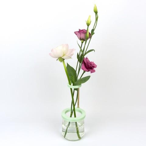 Shooting Pots et impression 3D - 2018 02 10 - 5.jpg Download STL file Stem vase / Vase to be fixed on a glass pot • 3D print object, Jonathan-AtelierVOUS