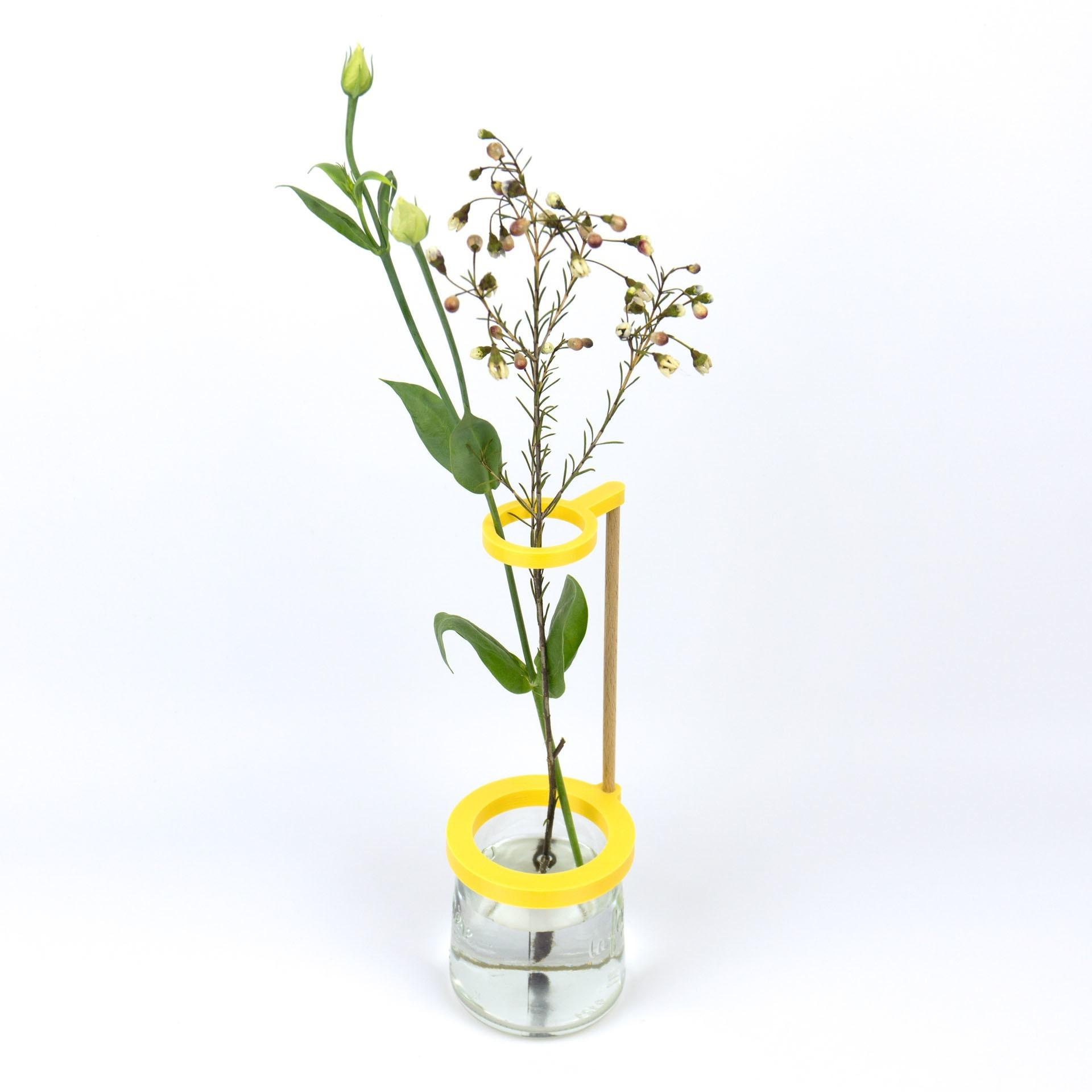 Shooting Pots et impression 3D - 2018 02 10 - 17.jpg Download STL file Stem vase / Vase to be fixed on a glass pot • 3D print object, Jonathan-AtelierVOUS