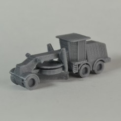 Free Road Grader STL file, MakeItWork