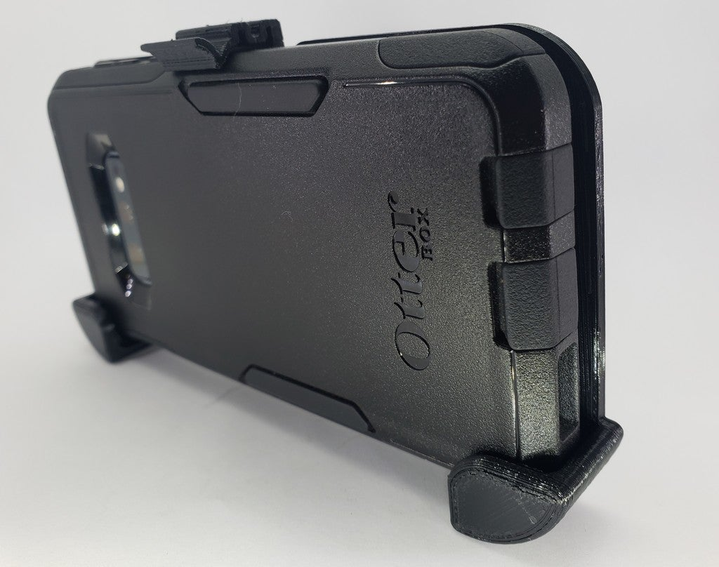 360f15675ee4660e7c52a373df1f4561_display_large.jpg Download free OBJ file Galaxy S10e OtterBox belt clip • 3D printable template, MakeItWork