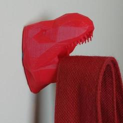 Download free 3D printer templates T-Rex Hanger, MakeItWork