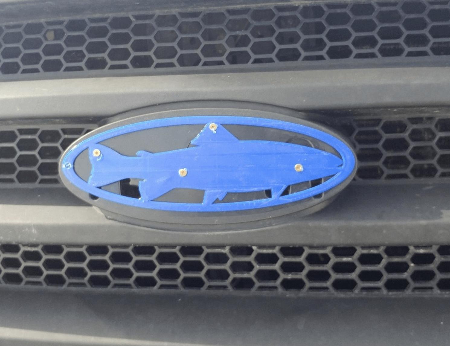 Capture d'écran 2018-04-16 à 11.20.06.png Download free STL file Ford Fish • 3D printer model, MakeItWork