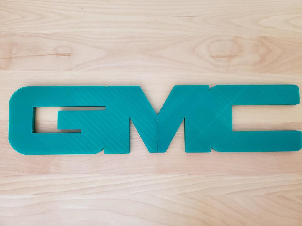 8b99025ebbd1dcea37a7a8d291c75ecc_display_large.jpg Download free STL file GMC logo • 3D print model, MakeItWork