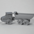 Download free STL Articulated Dump Truck, MakeItWork