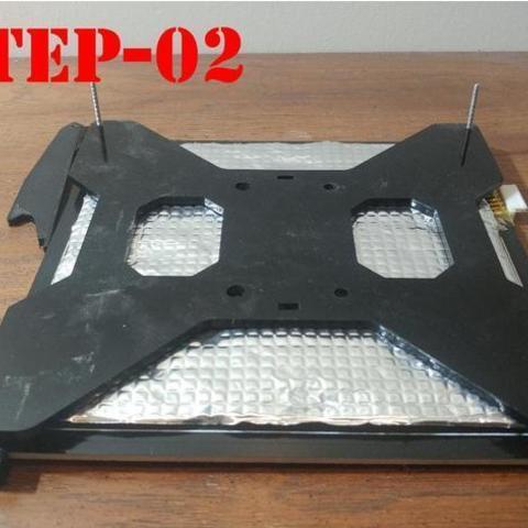 e041f1f807ba9e61cd8f3b49b4e930bc_preview_featured.jpg Download free OBJ file TEVO Tarantula Bed Mount • 3D printing template, MakeItWork