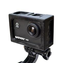 Free stl SJCAM Mount, MakeItWork