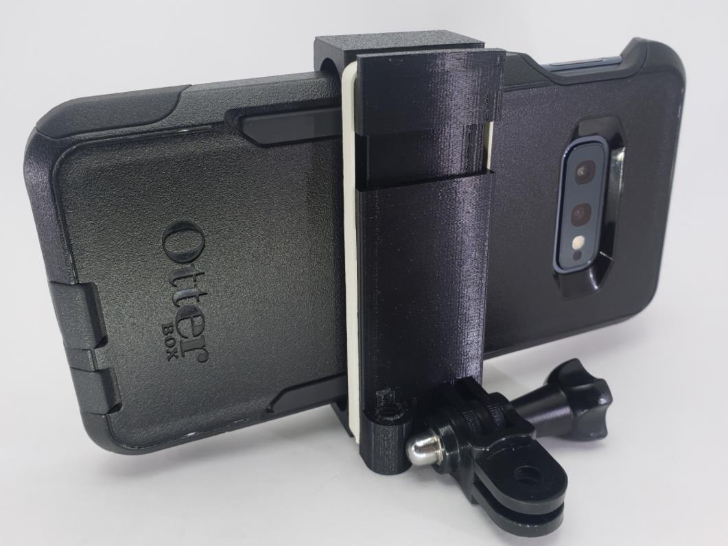04.jpg Download free STL file tripod / GoPro phone mount • 3D printer model, MakeItWork