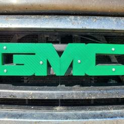 Download free 3D printing models GMC logo, MakeItWork