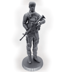 1.png Download STL file Modern Soldier • 3D printing design, MakeItWork