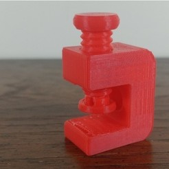 Download free 3D printer files Wall Mount C-Clamp, MakeItWork