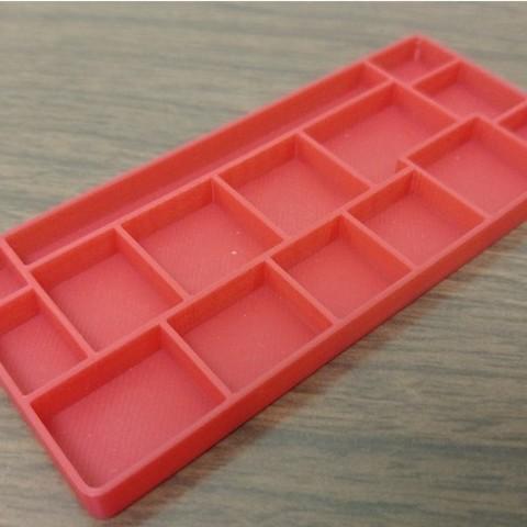 Free iPhone repair tray 3D printer file, MakeItWork