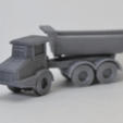Free STL Articulated Dump Truck, MakeItWork