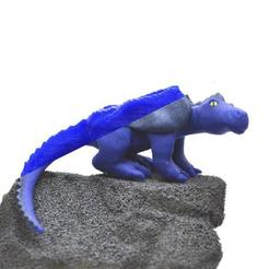 Free 3D printer designs Modeling clay dragon 3D scan, MakeItWork