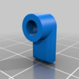 latch.png Download free STL file Castle door • 3D printing template, MakeItWork