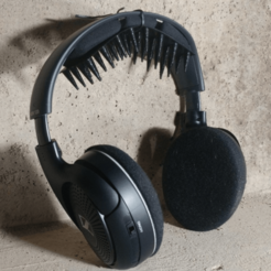 Download free 3D printer templates Headphone Hair Saver, MakeItWork