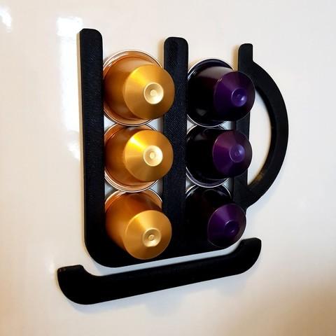 Descargar diseños 3D gratis Titular de la cápsula Nespresso, phobosmoon
