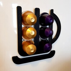 Free stl file Nespresso Capsule Holder, phobosmoon