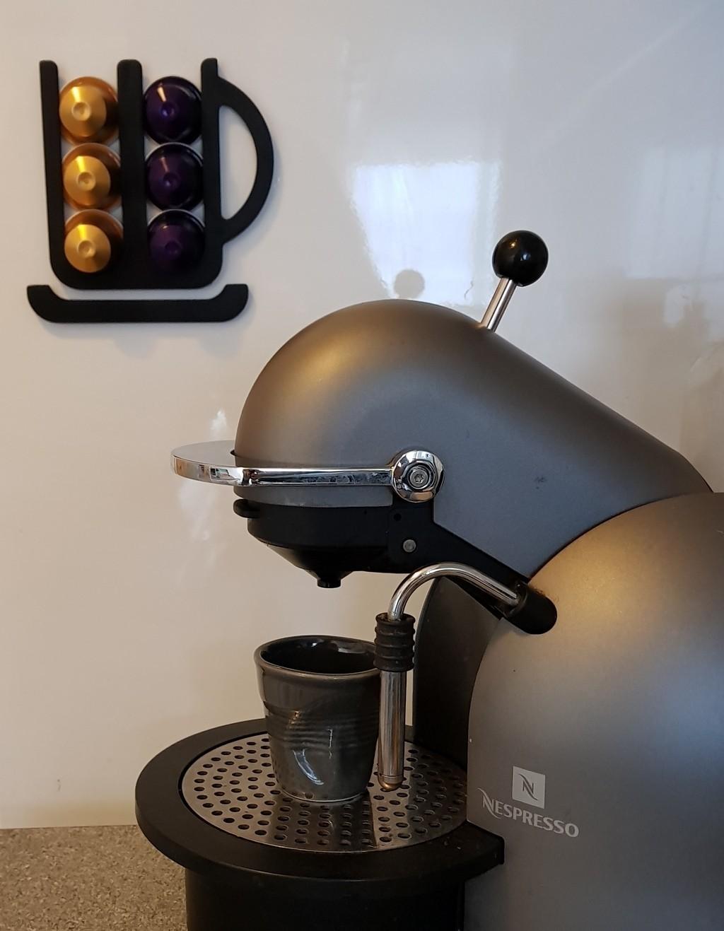 Nespresso Capsule Holder 01.jpg Download free STL file Nespresso Capsule Holder • Design to 3D print, phobosmoon