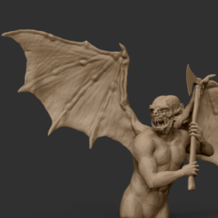 Download 3D print files K'rona Demon figurine, sandpiper