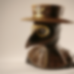 Sandpiper_plague_doctor_body.stl Download free STL file Plague Doctor bust • 3D print object, sandpiper