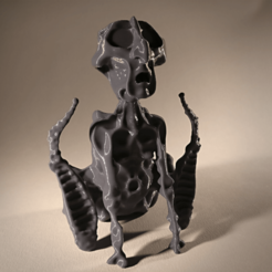 Download free STL file His Master's Noise statuette • 3D printing design, sandpiper
