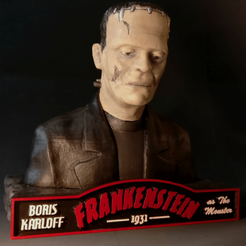 Sandpiper_Karloff_Frankenstein4.png Download STL file Frankenstein's monster DISCOUNTED PRICE! • 3D print model, sandpiper