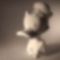 Modelos 3D gratis Busto del pato Donald, sandpiper