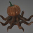 Download free STL Octosquash - Horrible Halloween Hybrid, sandpiper