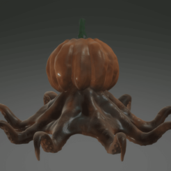 Download free 3MF file Octosquash - Horrible Halloween Hybrid • Object to 3D print, sandpiper